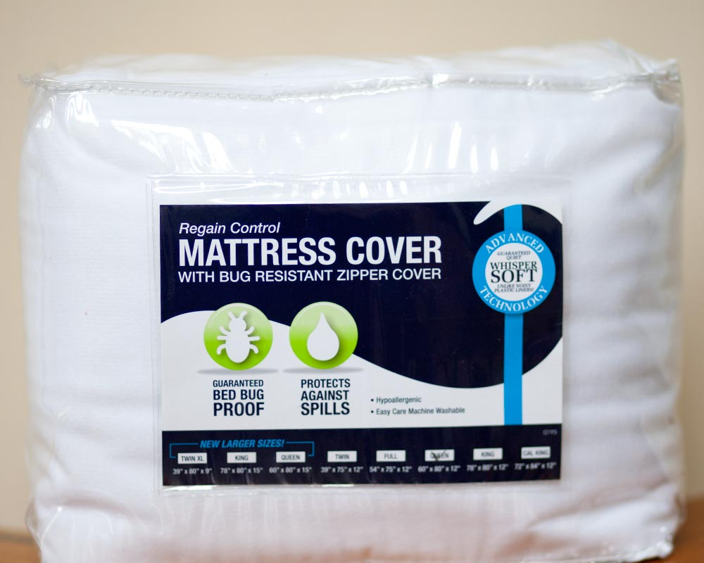 DOWNLITE Whisper Soft Bed Bug Mattress Cover